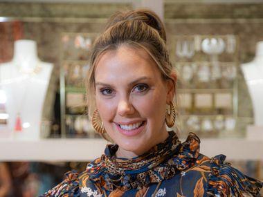 Jewelry designer Kendra Scott inside her store in the West Village in Dallas.