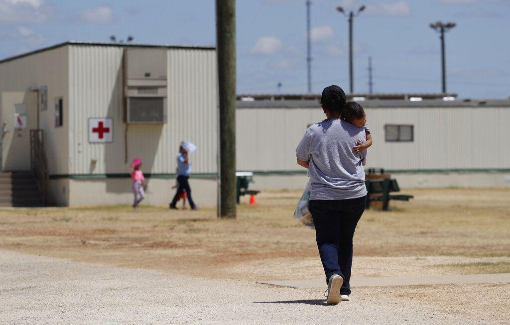 Foto tomada en el centro de detención de migrantes de Dilley, Texas, el 23 de agosto del 2019.