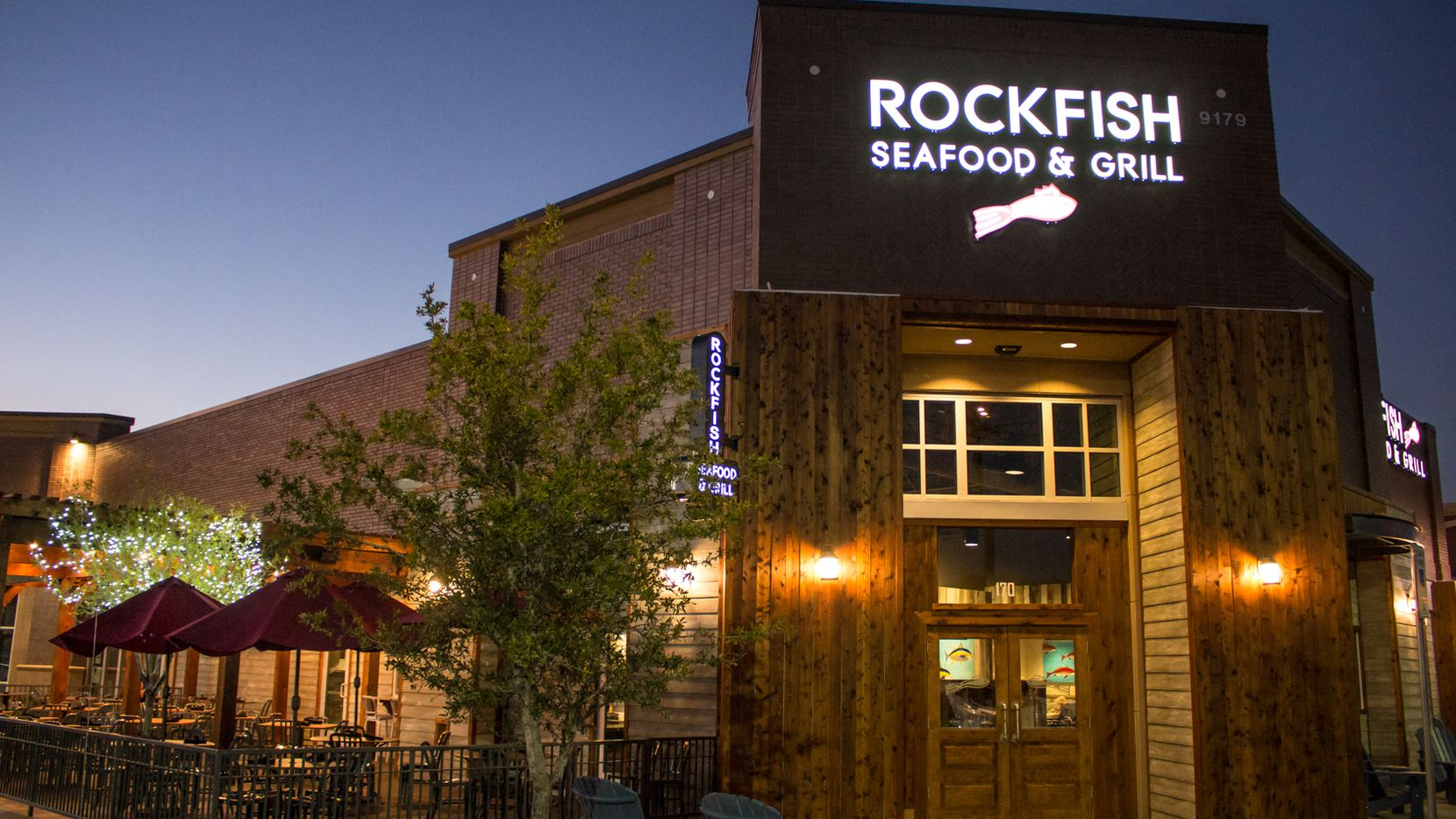 The Rockfish Seafood Grill in Frisco also attains the company's updated look.