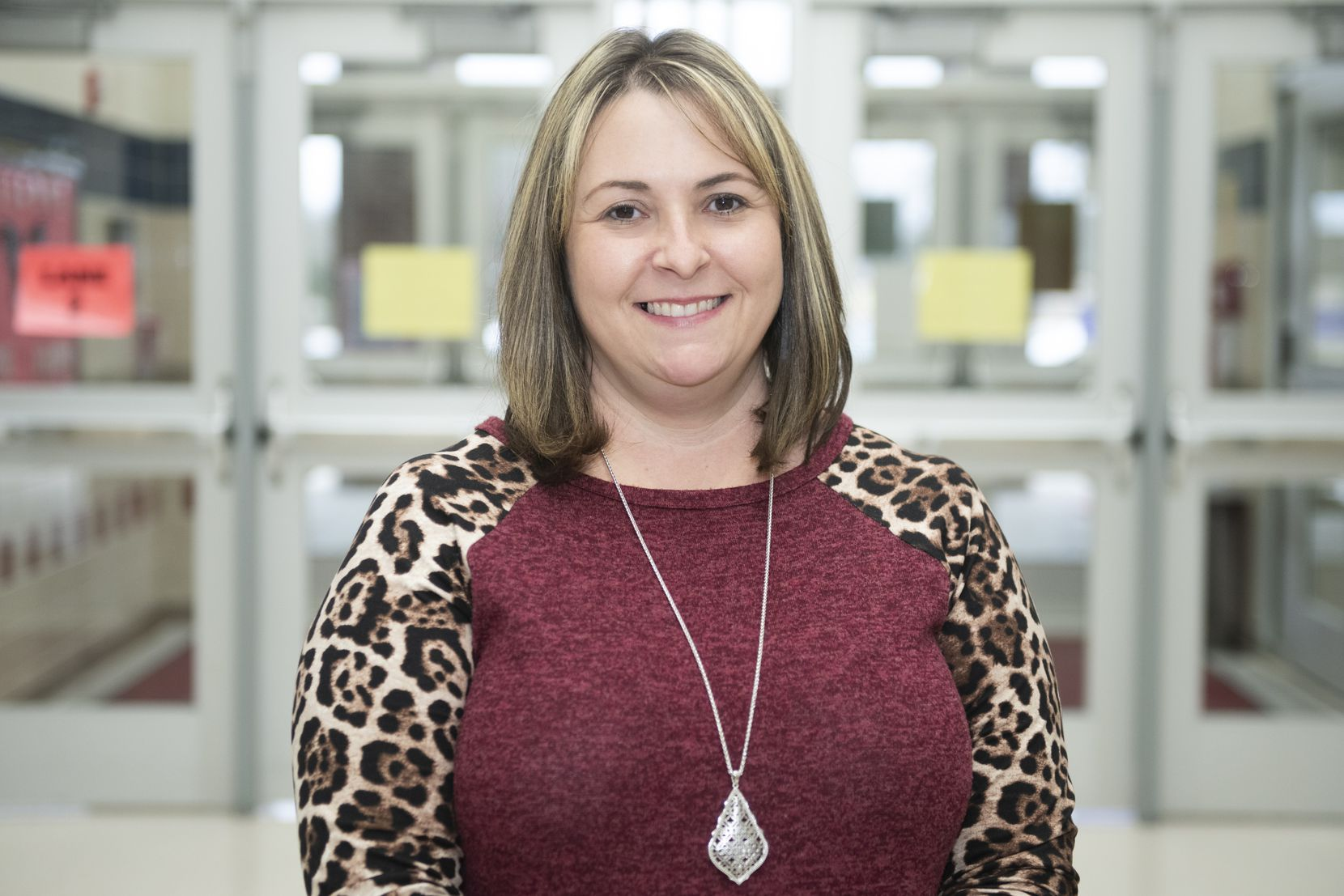 Stephanie Smith, a second-grade teacher at Mesquite's Henrie Elementary School, spends frequent afternoons meeting with students either virtually or in-person during the COVID-19 pandemic.