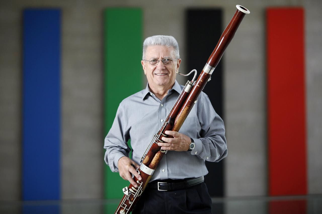 Dallas Symphony Orchestra bassoonist Wilfred Roberts