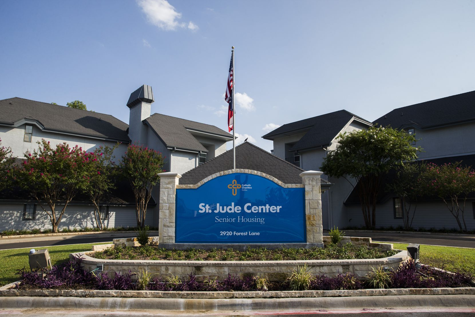 St. Jude Center had been a senior-living facility until Catholic Housing Initiative took over -- and rebuilt -- the complex, at the cost of $56,000 per unit, a bargain compared to new-construction costs.
