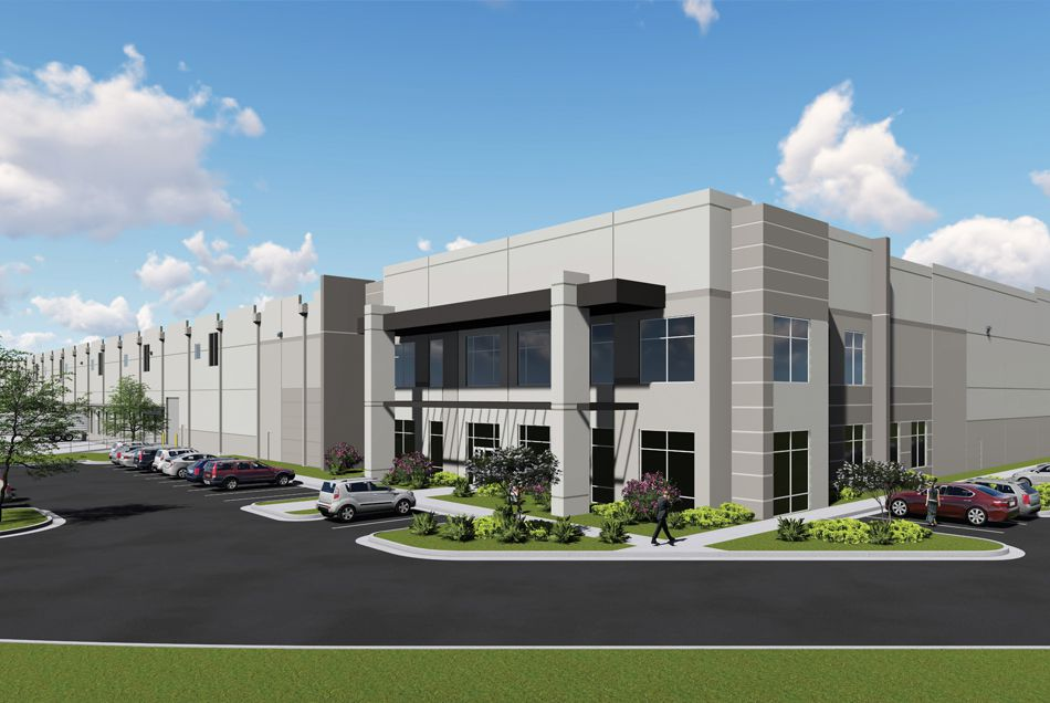 The Core5 Logistics Center at McKinney is east of U.S. Highway 75.
