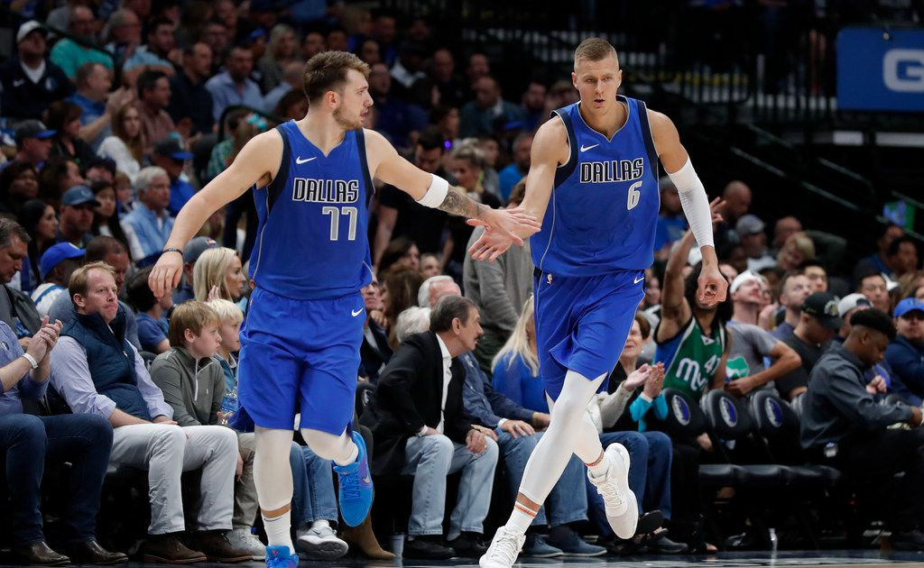 Mark Cuban compares relationship between Luka Doncic and Kristaps Porzingis to that of Dirk Nowitzki and Jason Terry