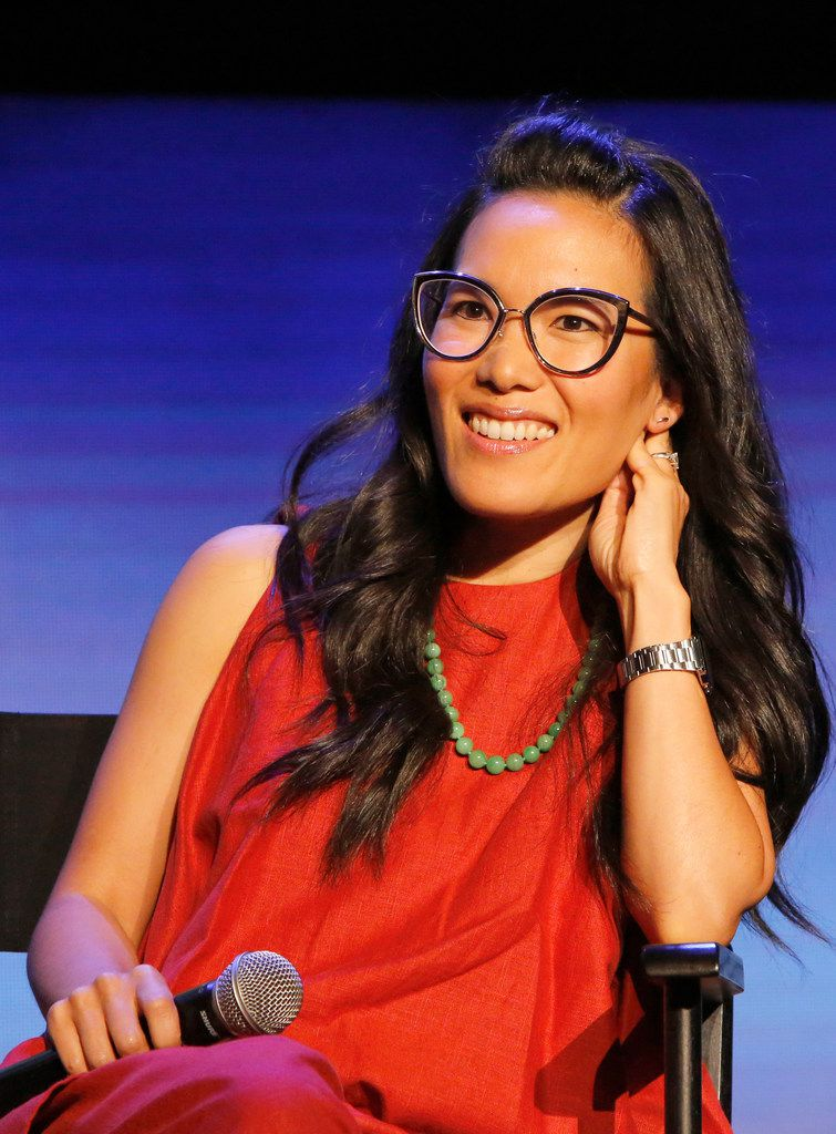 "Ali Wong speaks onstage at the ""Netflix is a Joke"" Panel at Netflix FYSEE at Raleigh Studios on May 11, 2018 in Los Angeles, California."