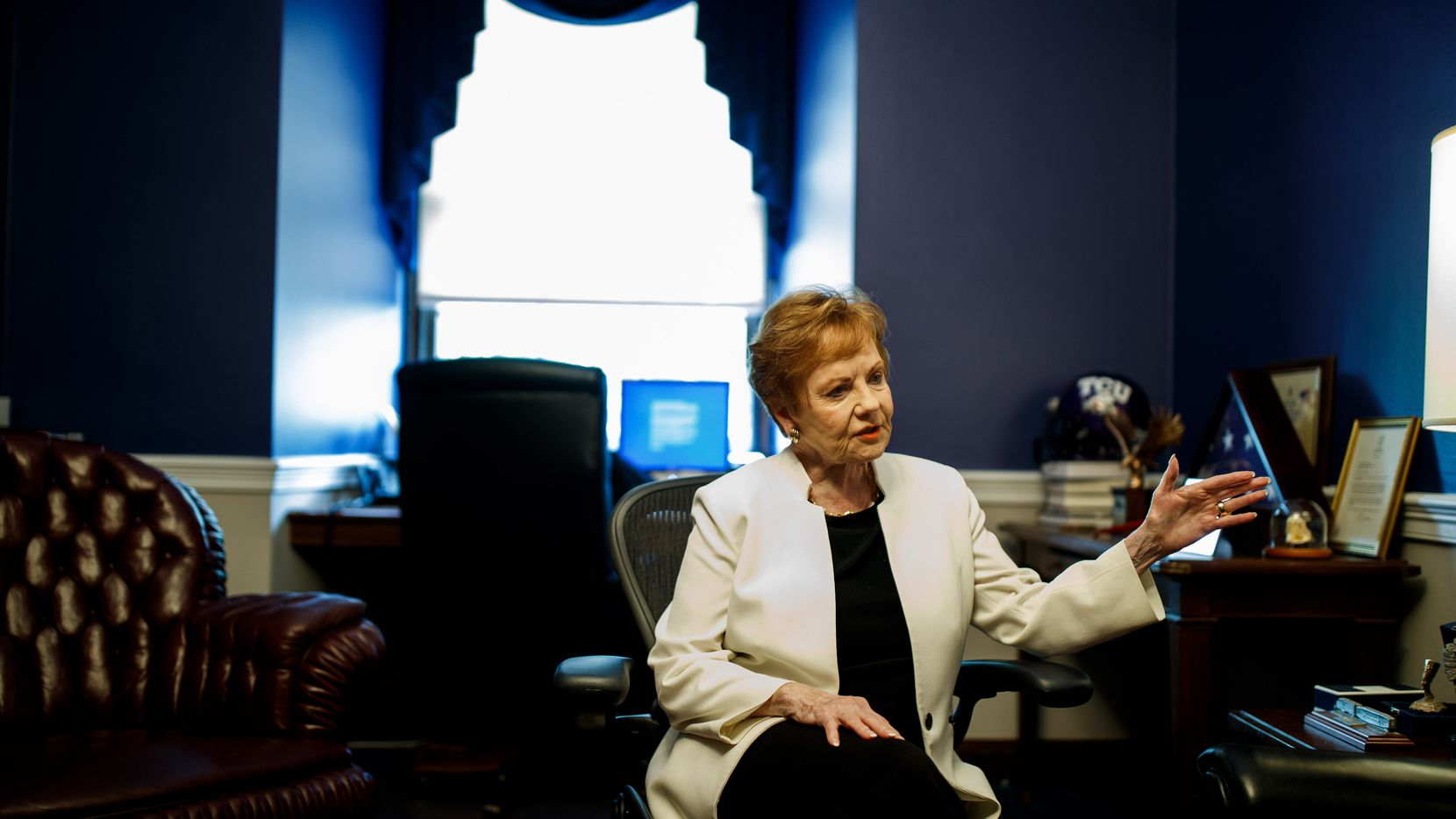 Rep. Kay Granger, R-Fort Worth, has now raised nearly $2.2 million this election cycle amid a tough primary challenge. (Ting Shen/ Special to The Dallas Morning News)