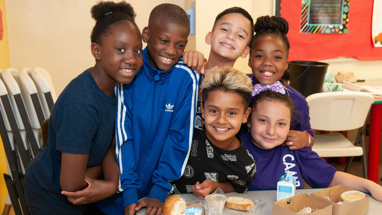 In 2000, the North Texas Food Bank received its first funding from Crystal Charity with a $372,000 grant in support of its Kids Café.