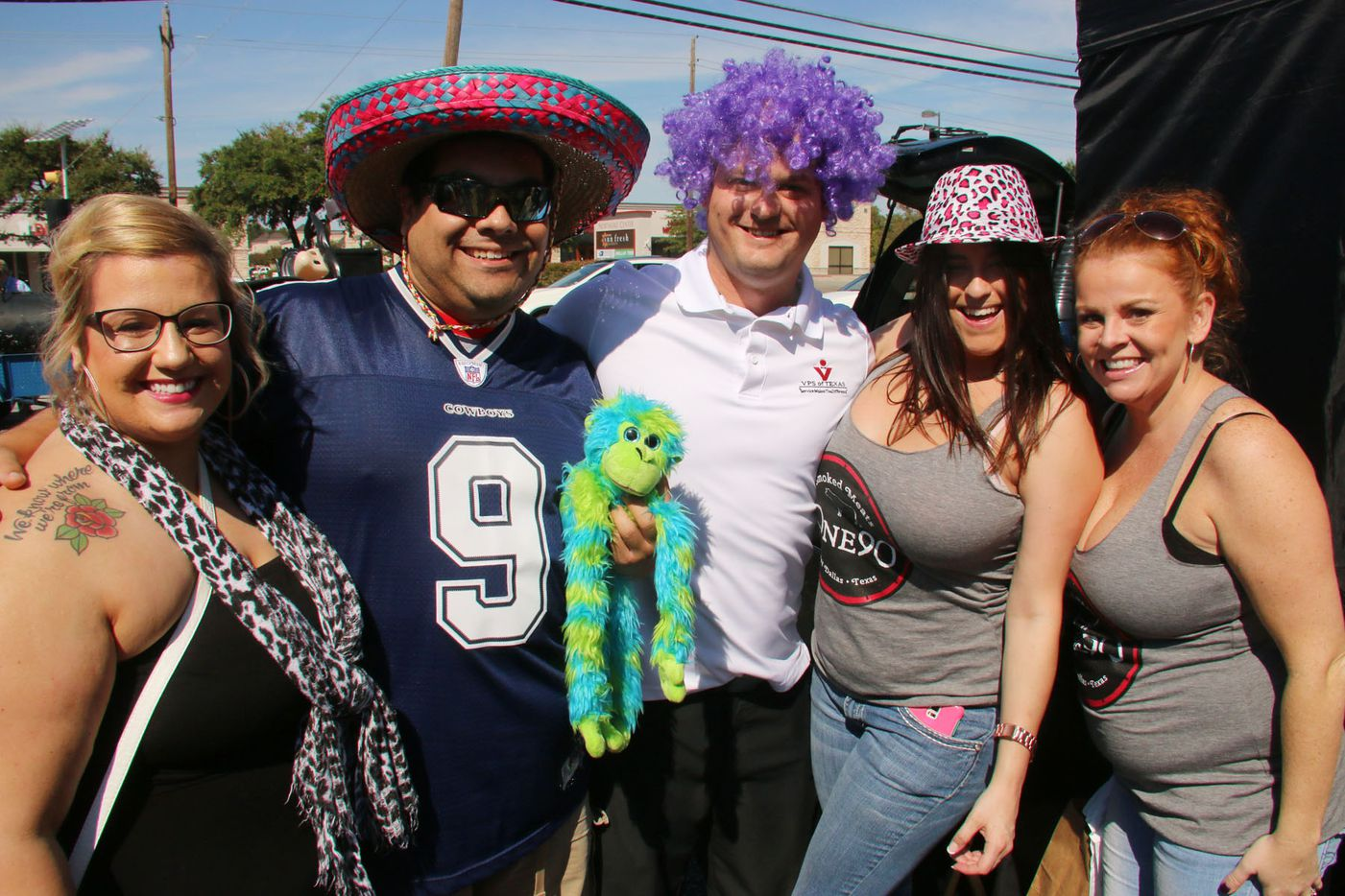 Attendees enjoyed the photo booth at One90 Smoked Meats grand opening in East Dallas on October 4, 2015.