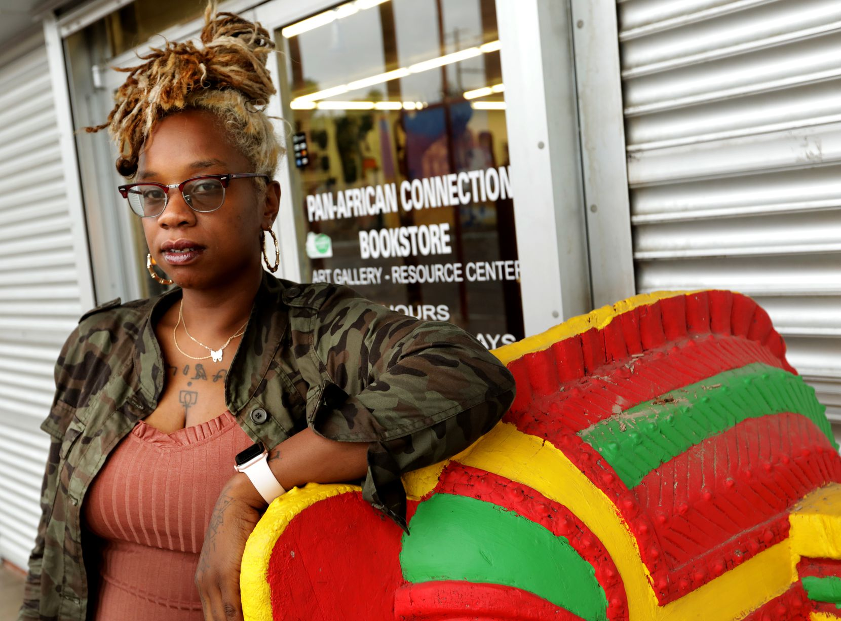 Classi Nance is a coordinator for the In Defense of Black Lives Coalition in Dallas. (Jason Janik/Special Contributor)