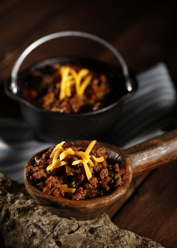 Molly's Chunky Texas Chili from the book Stirring It Up With Molly Ivins