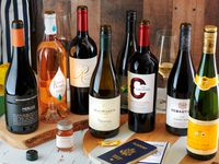 A selection of wines from American Airlines' new Flagship Cellars program to sell and deliver wine directly to consumers.