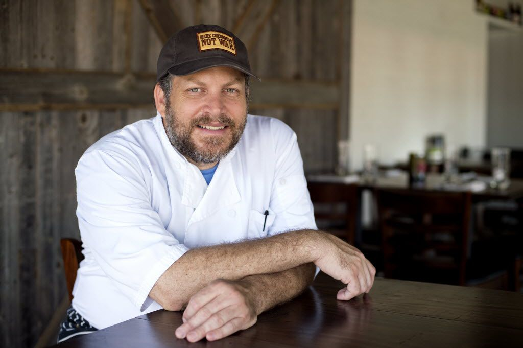 Graham Dodds, chef-owner of Wayward Sons, in June