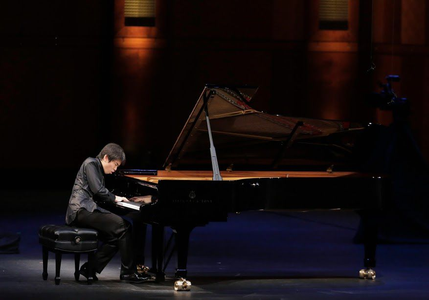 Tony Yike Yang performs in the Semifinal Round of the Van Cliburn International Piano Competition on June 3, 2017 at Bass Performance Hall, Fort Worth (Ralph Lauer/Van Cliburn Foundation)