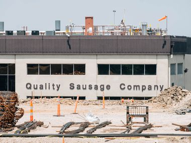 "The Quality Sausage Co., at 1925 Lone Star Drive in Dallas, said last week that it ""temporarily paused operations"" to assess its response to the public health crisis and to test all of its employees. A representative said Tuesday that the ""pause"" remains in effect."
