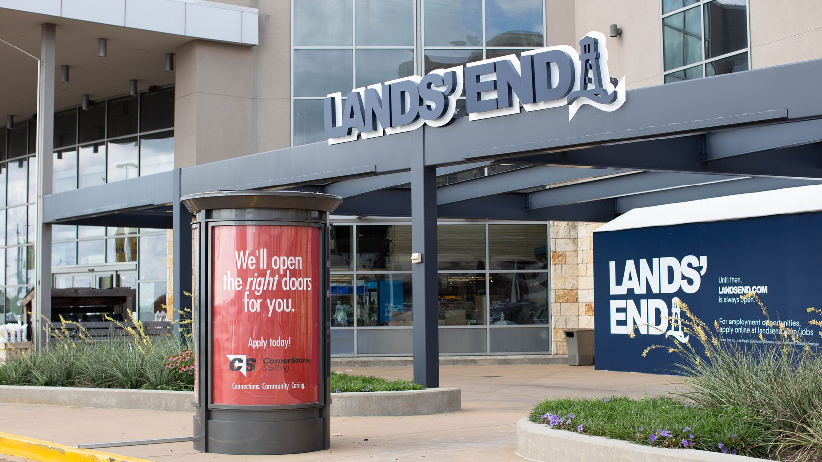 Lands' End is opening in Dallas at the Shops at Park Lane on Aug. 20, 2020. Lands' End opened its first local store in June in Frisco, north of Stonebriar Centre. The store is next to Whole Foods Market facing Greenville Avenue.