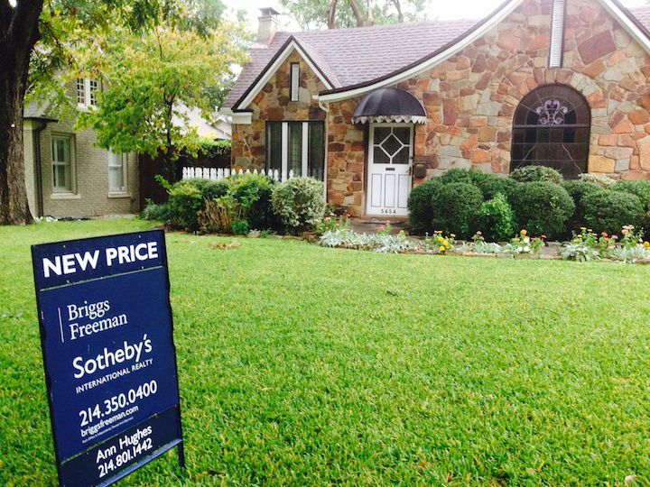 Home prices in the Dallas area were 3.5% higher in July from a year ago, according to CoreLogic.