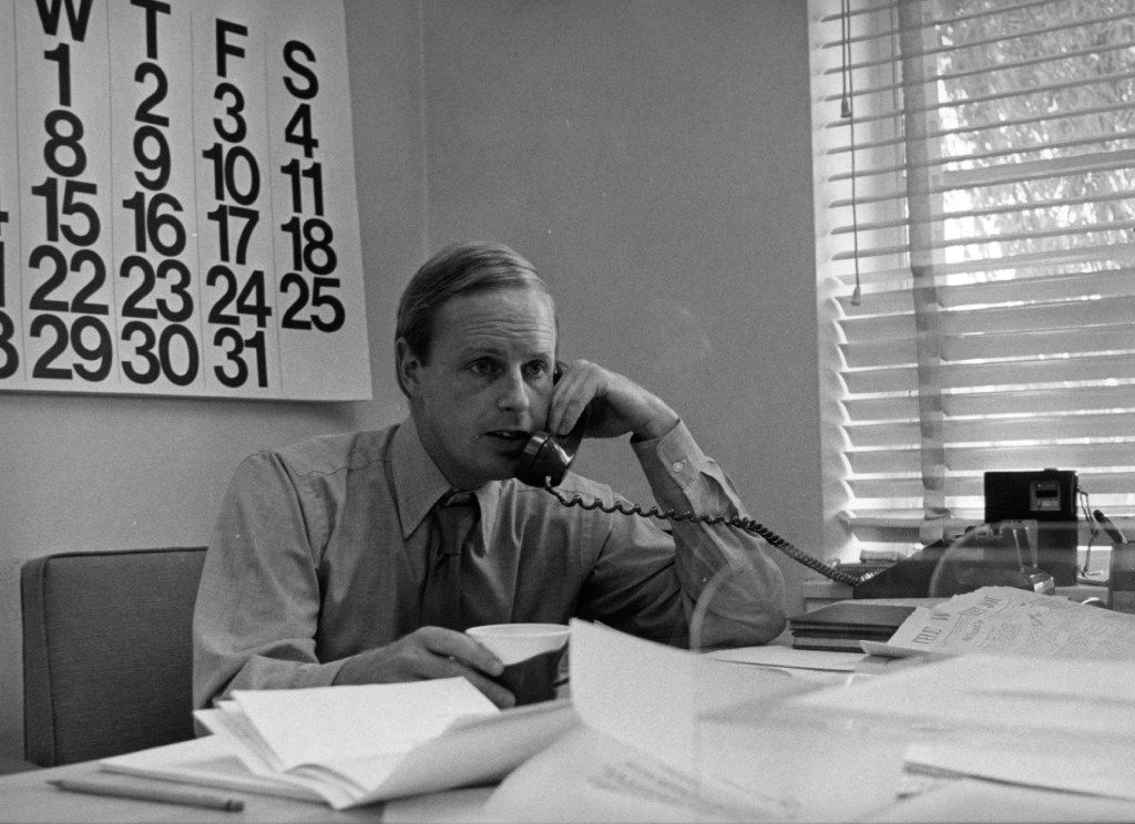 Robert A. Wilson in an image from the KERA archives. Wilson, who led  KERA during its early years, died Friday after a long battle with Alzheimer's disease.