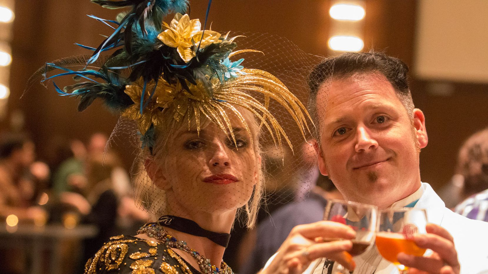 NTX Beer Week held its Second Annual Brewers Ball at the Renaissance Dallas Hotel on November 13, 2015. Michelle and David Muckian
