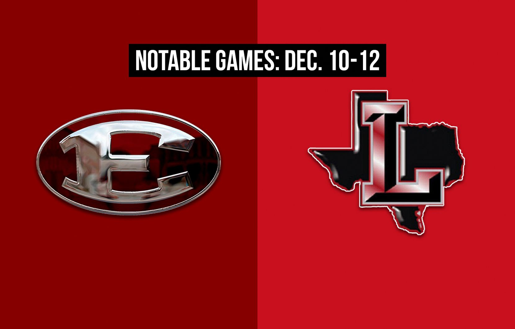 Notable games for the week of Dec. 10-12 of the 2020 season: Ennis vs. Frisco Liberty.