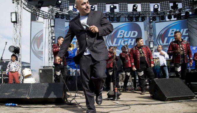 Lupillo Rivera se presentó en Fort Worth hace dos semanas.(AL DIA)