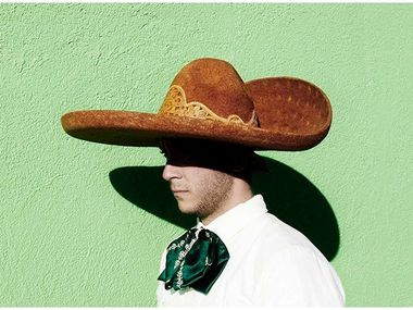 Nancy Newberry will use the grant money toward her photographic series titled 'Character Studies,' a modern spaghetti western staged at the Texas-Mexico border.