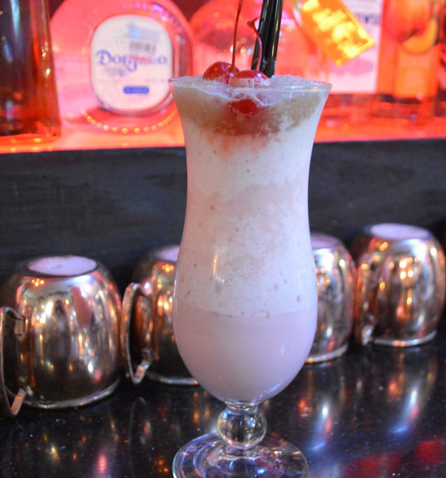 Ragin' Crab Cafe's Valentine's Day menu will include a chocolate-covered strawberry cocktail made with Patron XO Cafe Dark Cocoa.