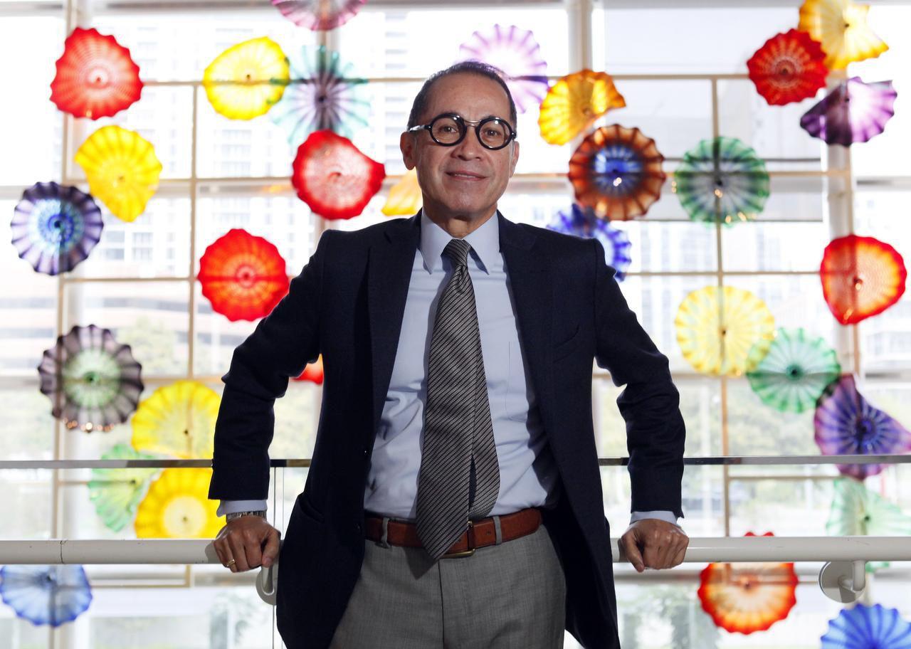 Agustín Arteaga asumió como director del Museo de Arte de Dallas en septiembre. (ESPECIAL PARA AL DÍA/BEN TORRES)