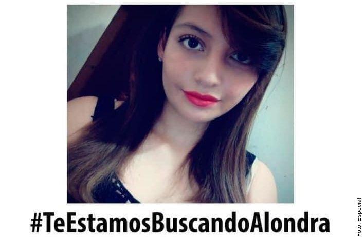 La desesperación por la desaparición de Alondra Gallegos García tenía 20 años y era madre de una niña de cuatro años.