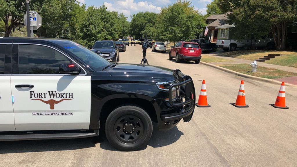 Fort Worth police were called to the 2100 block of Hurley Avenue on Monday.