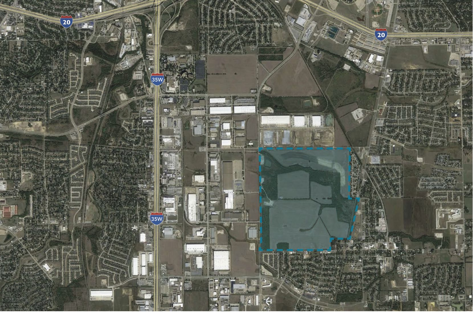 The Carter Park East development is planned south of Interstate 20.