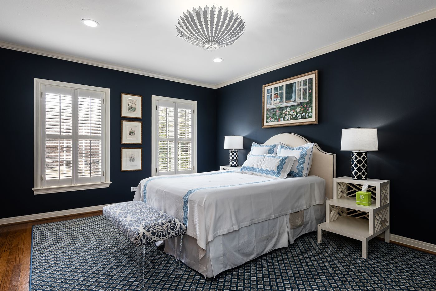Bedroom at 5845 Lupton Drive.