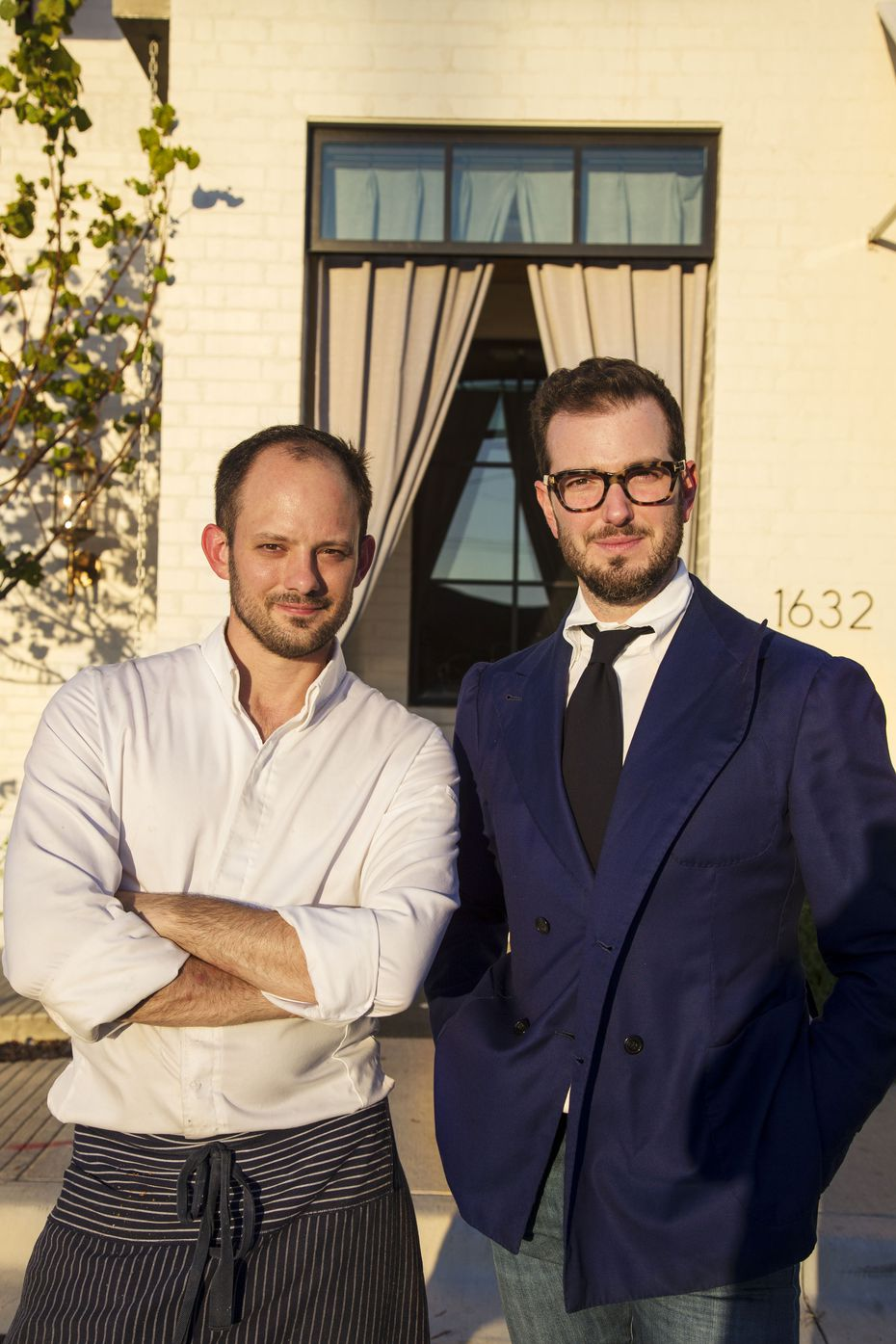 Restaurateur Chas Martin, right, is opening a new restaurant on Greenville Avenue, where The Grape was. Martin operates The Charles alongside chef J. Chastain.