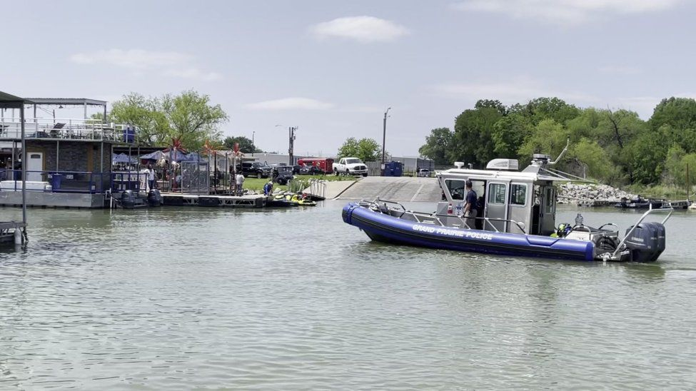 A 75-year-old man dove off a boat and never resurfaced Saturday, witnesses told emergency responders. A dive team recovered the man's body Sunday. (KXAS-TV (NBC5))