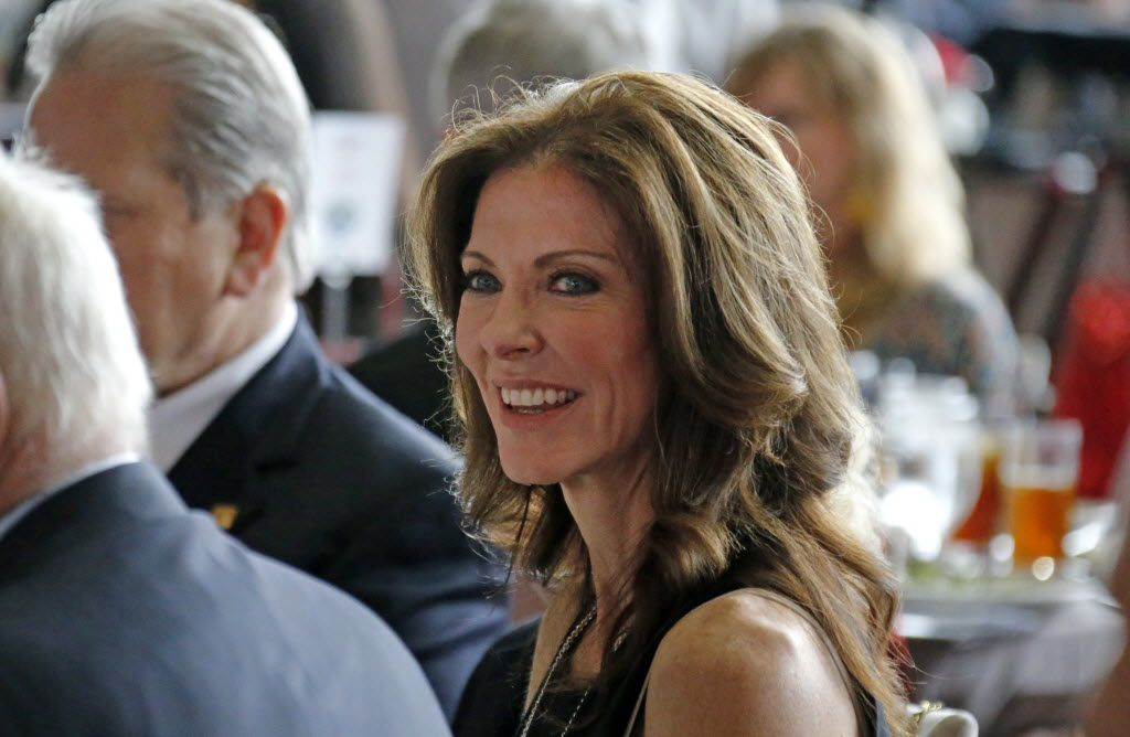 Charlotte Jones Anderson is pictured at the Salvation Army's Inaugural Inspiring Hope Luncheon at AT&T Stadium in Arlington on Wednesday, May 6, 2015. (Louis DeLuca/The Dallas Morning News)