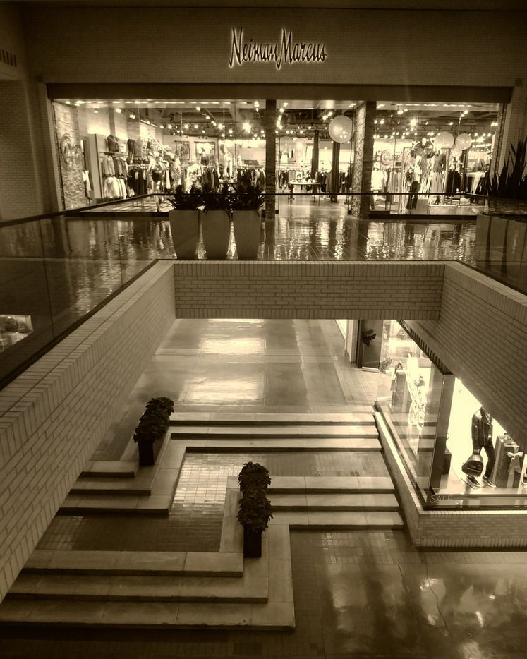 The Neiman Marcus store at NorthPark Center, designed by Kevin Roche.