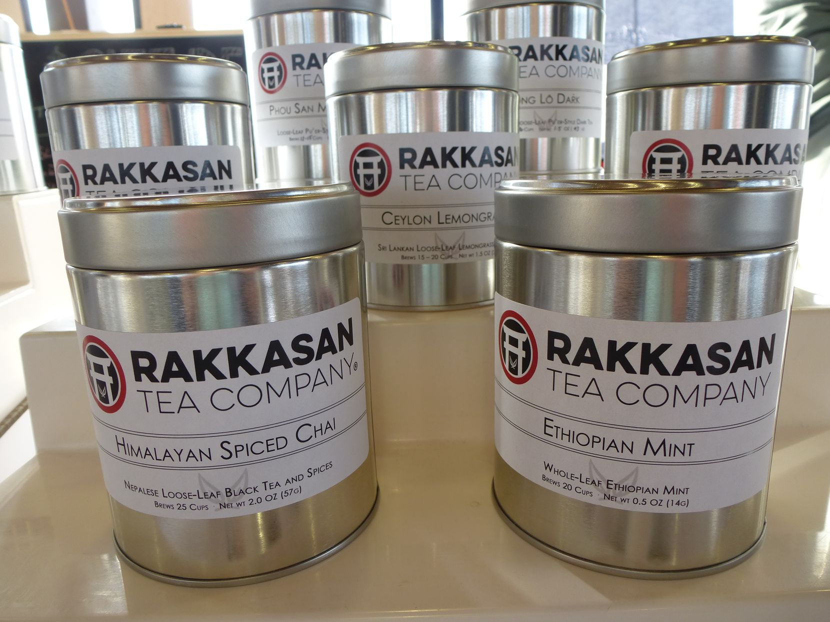 Among its wide selection of teas from strife-torn areas of the world, Rakkasan Tea Co. brings in Himalayan Spiced Chai and Ethiopian Mint especially for the holidays.