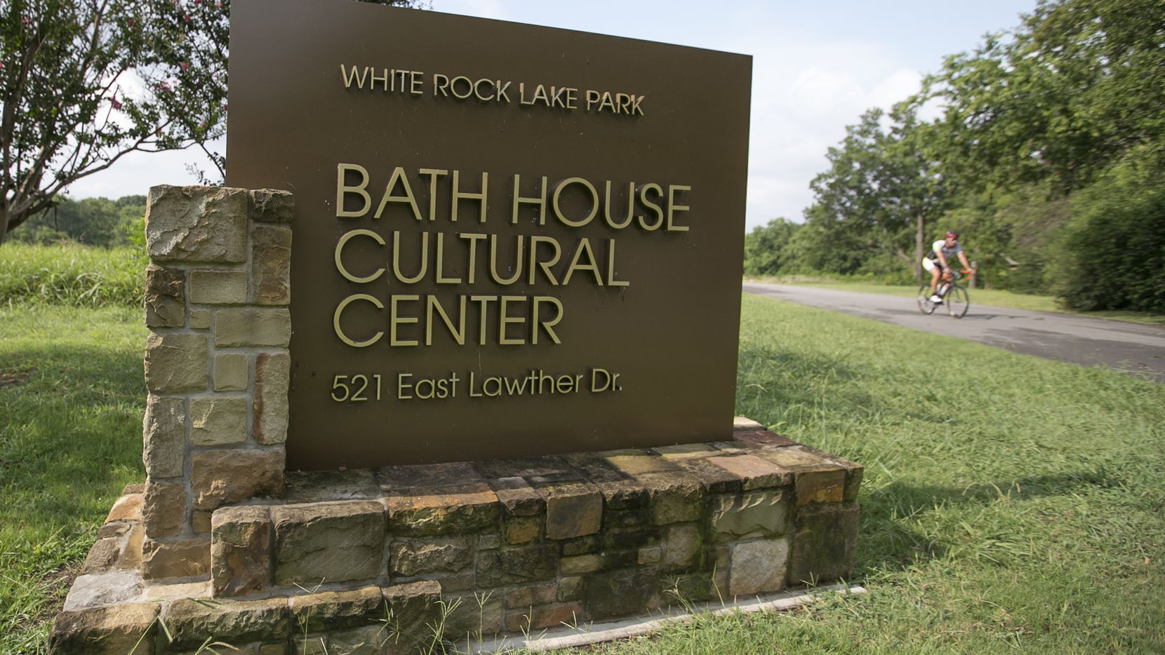 Bath House Cultural Center at White Rock Lake Park in Dallas on Thursday, August 3, 2017. (Tailyr Irvine/The Dallas Morning News)