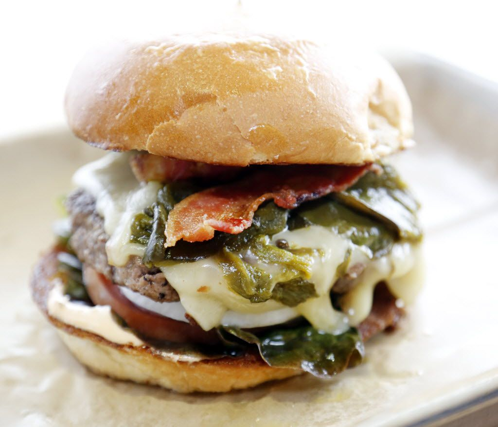 One of our special contributors recommends the Llano Poblano Burger at Hopdoddy Burger Bar.