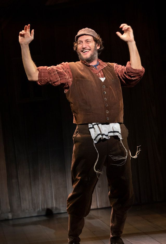 Yehezkel Lazarov, the star of the touring production of Fiddler on the Roof, which will open at Dallas Summer Musicals on Aug. 7, 2019.