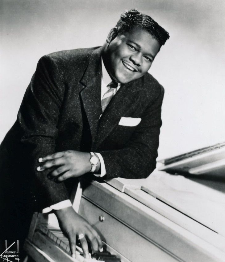 Rock 'n' roll pioneer Fats Domino died Oct. 24. (File photo)