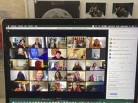 Work-from-home meetings via Zoom and other video conferencing apps consume a good part of the new pandemic workday.