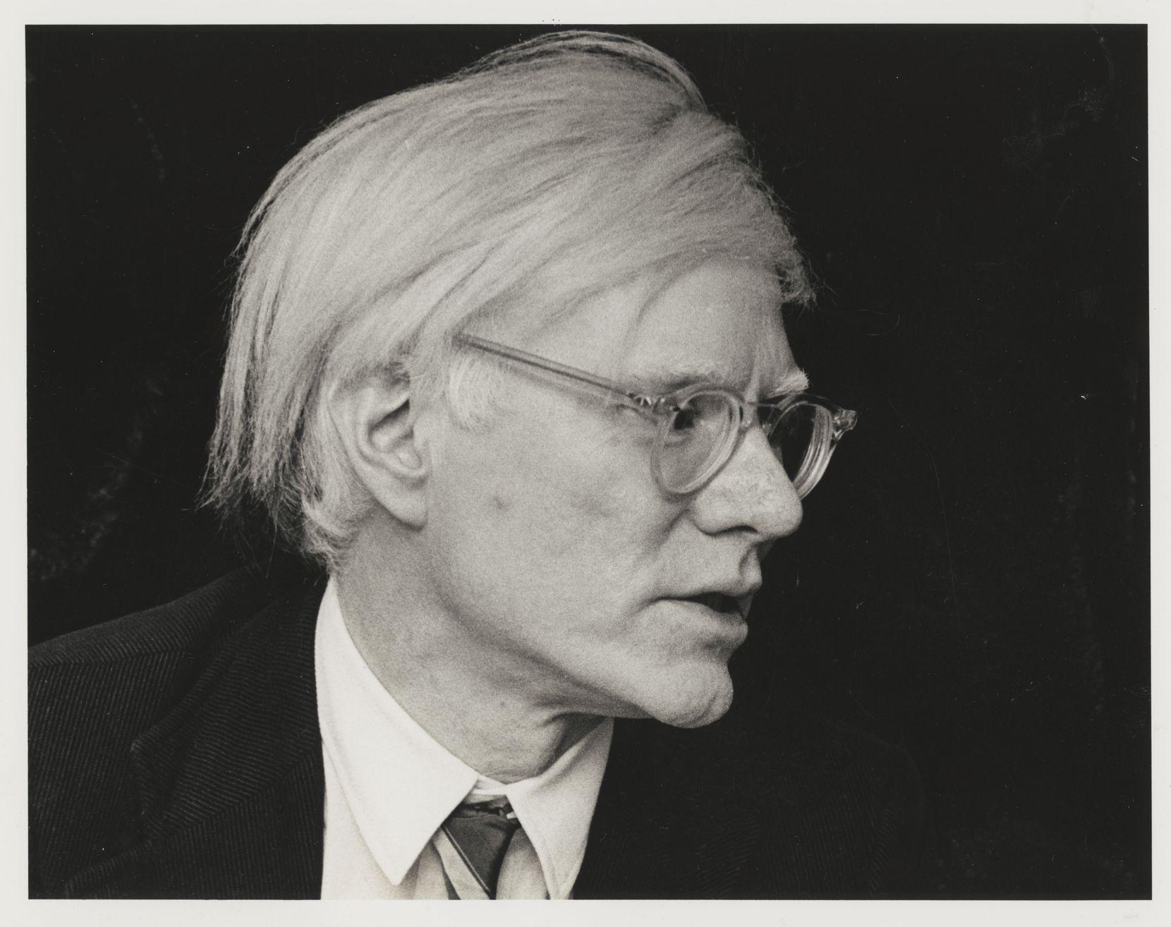 Artist Andy Warhol, Nov. 1977.