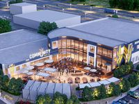 Rendering of new Community Beer Co. location