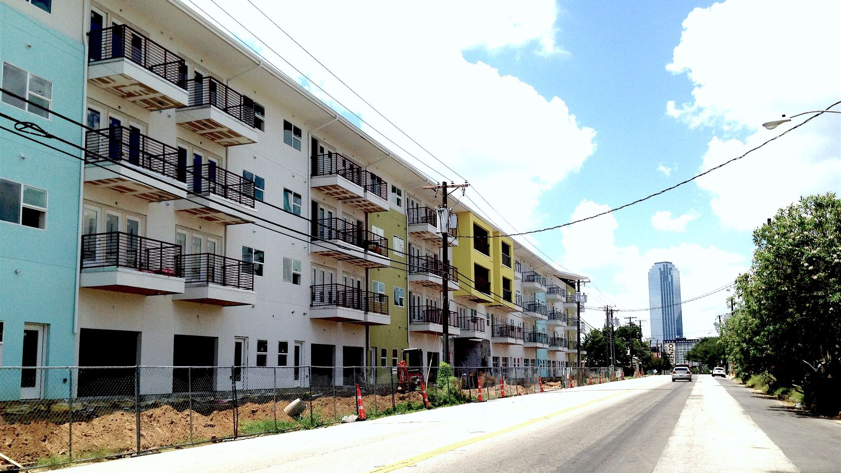 More than 50,000 apartments are being built in North Texas.