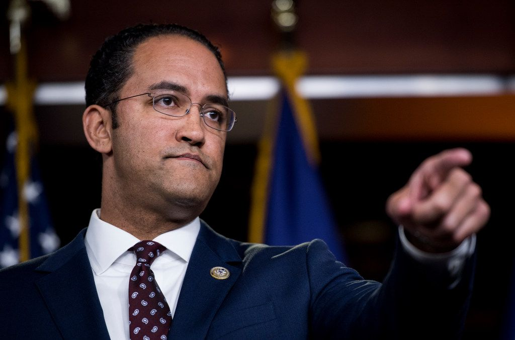 San Antonio Rep. Will Hurd has a lengthy history of castigating the president, more than nearly any other GOP House member and certainly more than any from Texas. He was one of just four House Republicans to join Democrats on a resolution condemning President Trump's tweets against four congresswomen of color.