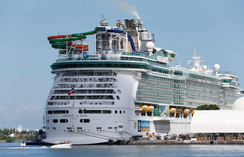 Royal Caribbean's Liberty of the Seas is one of its two cruise ships operating out of Galveston.