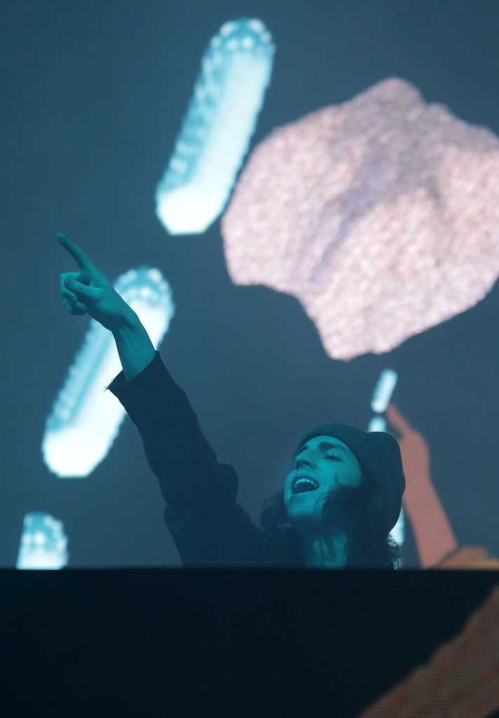 Porter Robinson performs during Lights All Night.