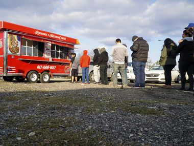 Birriera Y Taqueria Cortez food truck in Fort Worth, Texas on Thursday, February 20, 2020. (Lawrence Jenkins/Special Contributor)