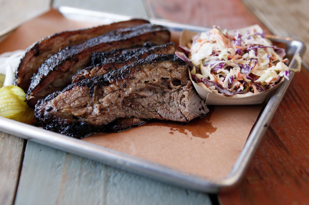 Pecan Lodge is one of Dallas' most popular barbecue restaurants for brisket.