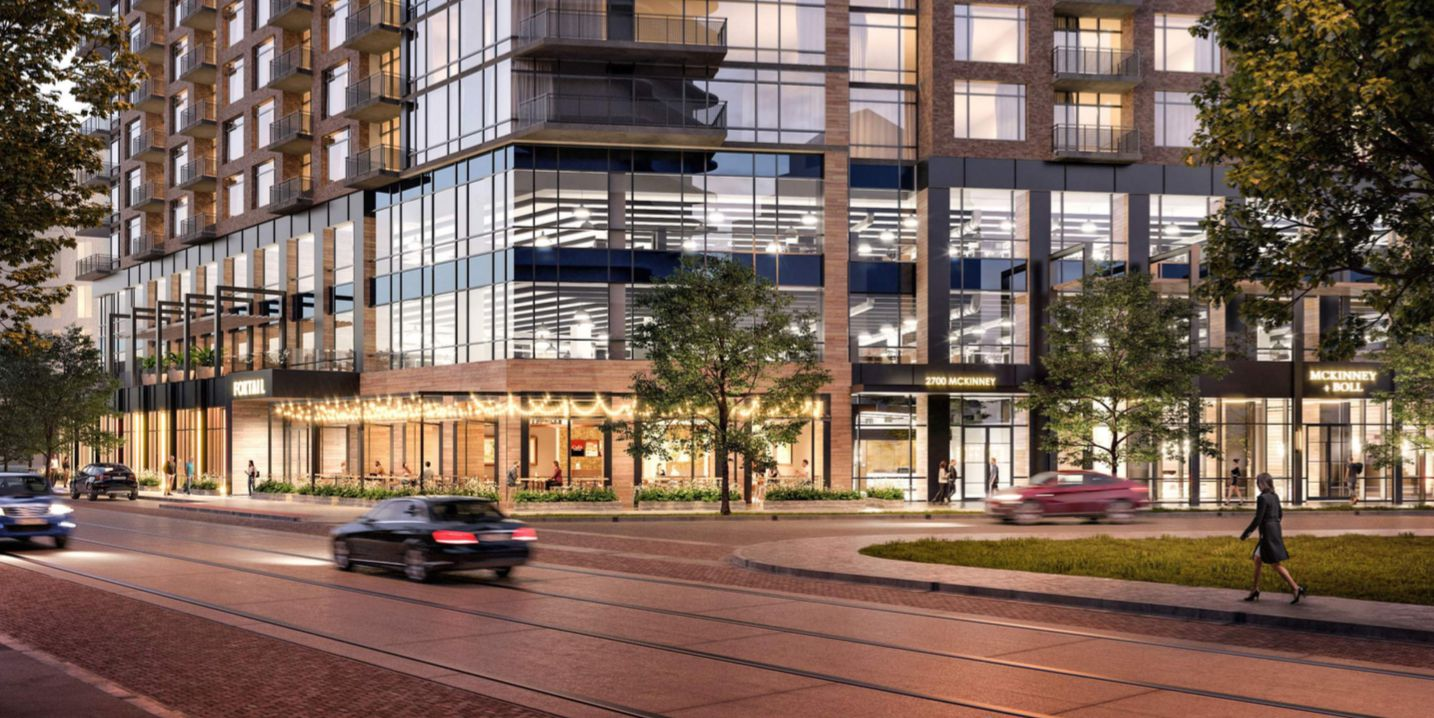 Endeavor Real Estate Group wants to build a 19-story tower on McKinney Avenue.